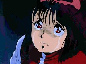 スミスの鉢巻を見て泣くノリコ