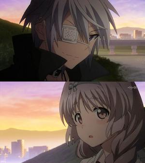桐生と鳩子