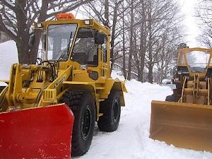 札幌の除雪車