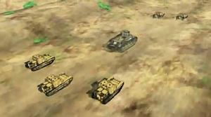 重戦車に見える八九式