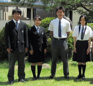 県立清水南高校の制服