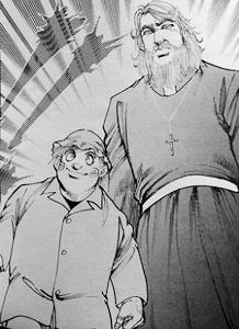 鷹沢神父と羽死夢