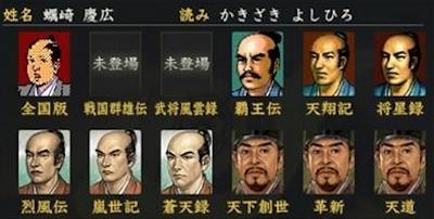 蠣崎慶広の顔グラ集