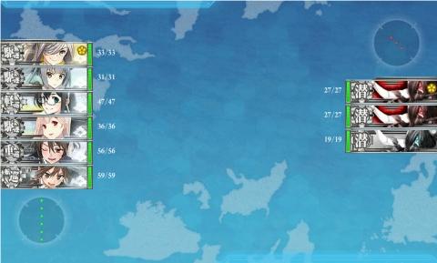 艦これ2016年冬イベント 12 E-2 礼号北ルート1戦目