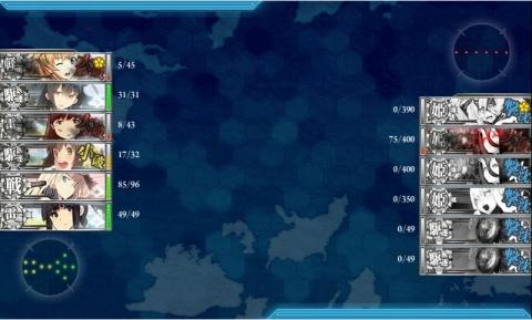 艦これ2016年冬イベント 37 E-3 最終決戦 BOSS 終焉