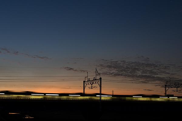 中央線夕暮れ