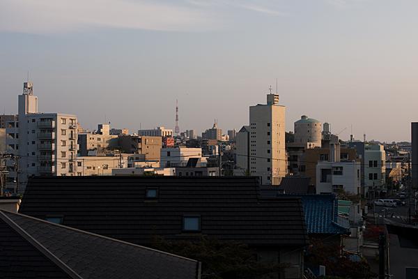 城山八幡宮からの眺め