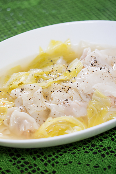 水餃子スープ
