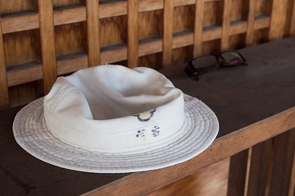 帽子とメガネ