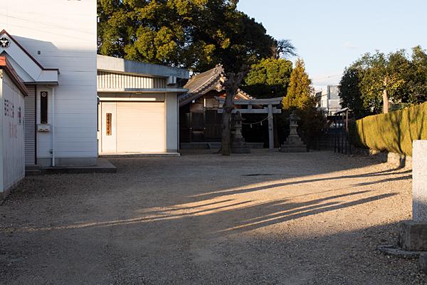 熊野社外観