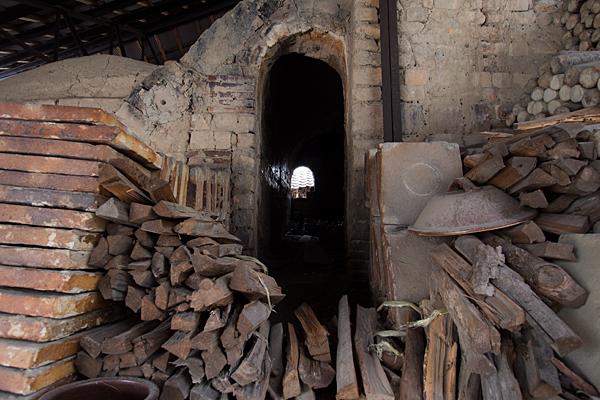 登り窯の室