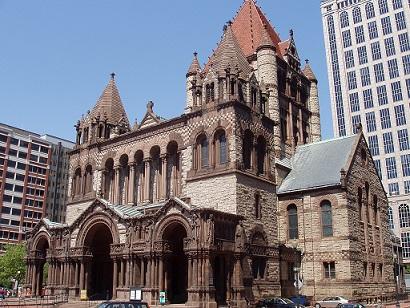 ボストン市のトリニティ教会