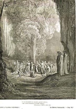 煉獄の入り口(画:ギュスターヴ・ドレ)