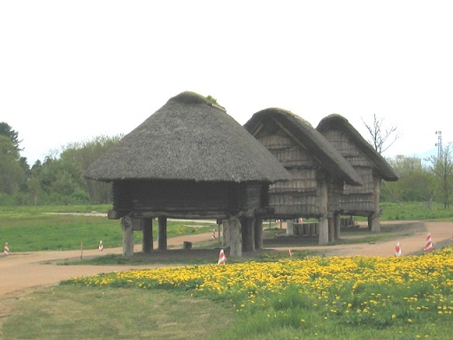 三内丸山遺跡 高床式建物