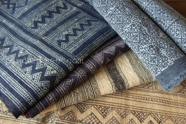 モン族の織物いろいろ
