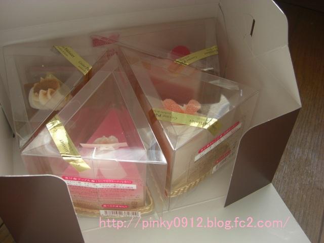 ケーキ石鹸 ギフトボックスに入れる