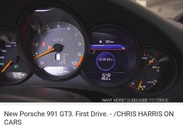 ポルシェ991GT3_Drive_CHonC1