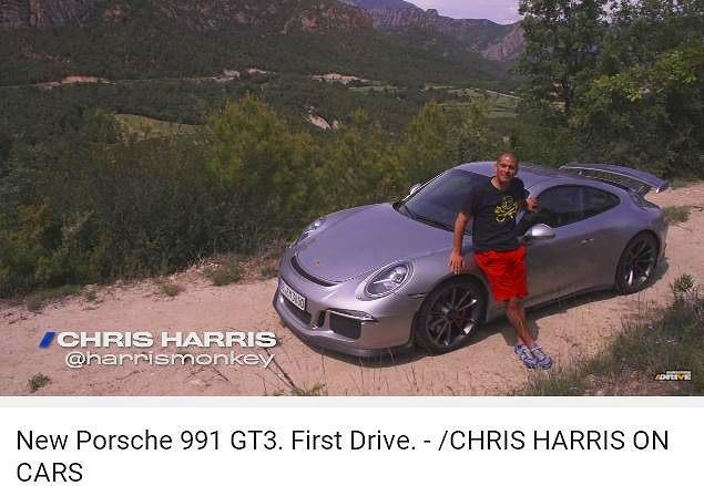 ポルシェ991GT3_Drive_CHonC