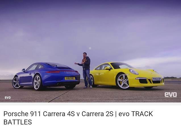 ポルシェ991カレラ4Sカレラ2S_EVO_Track_Battles_0