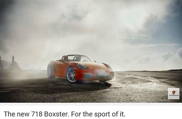 ポルシェ718ボクスターS_PO_boxster718ForTheSport