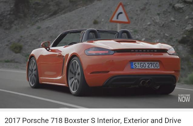 ポルシェ718ボクスター_CAR2017