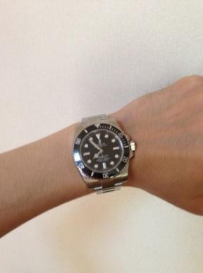 ロレックス(ROLEX) 機械式腕時計 オイスター パーペチュアル サブマリーナー 114060