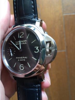 size 40 0f442 ee0ee パネライ ルミノール】手巻き時計の楽しみとは!?【8 DAYS ...