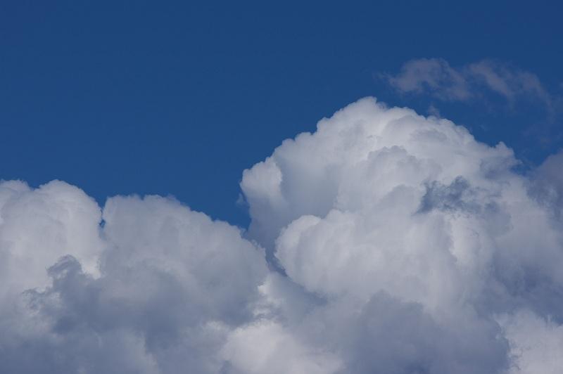 青い空 白い雲