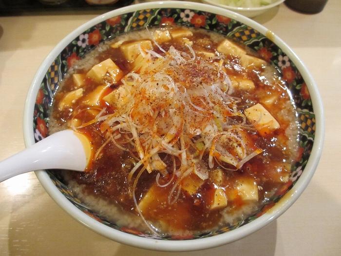 忍 背脂麻婆麺