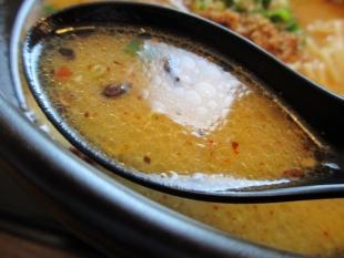 繁屋 特選鶏ソバ味噌 スープ
