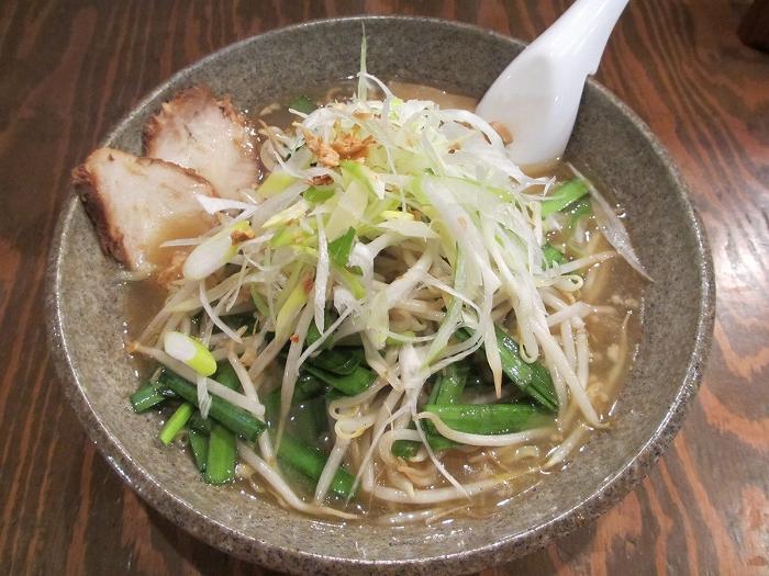 たぶきん竹尾 ニラモヤシ麺