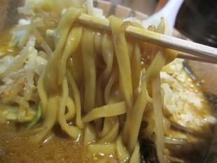 麺や力 チーズカレー味噌ラーメン 麺