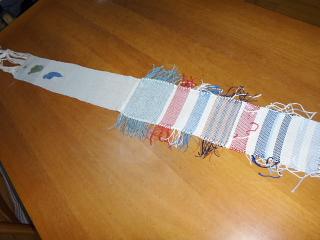 インコ織りの残り部分