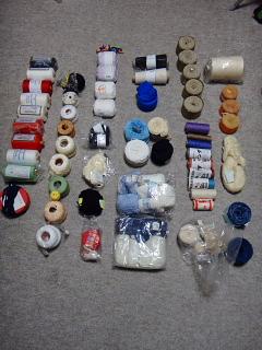 2016年初市販の綿糸