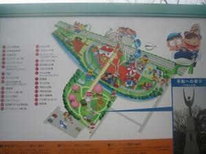明石公園マップ