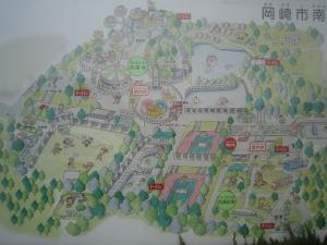 岡崎南強化 マップ全体