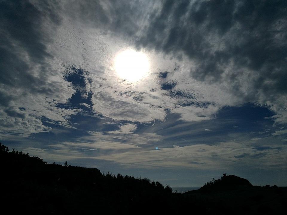 黒崎半島の夕景