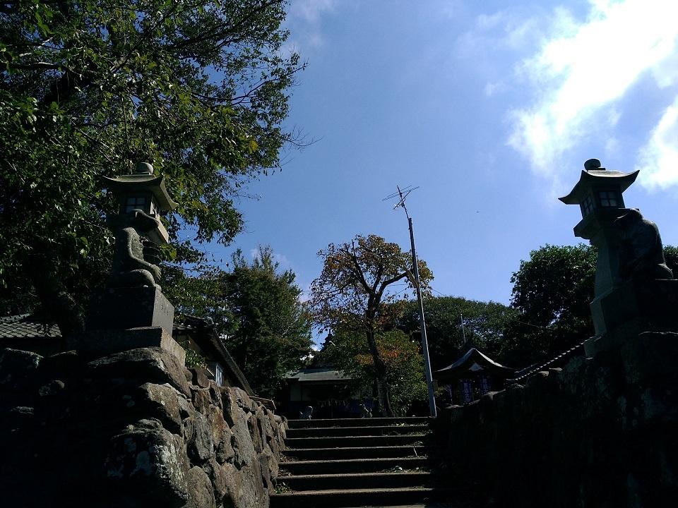 男嶽神社にて