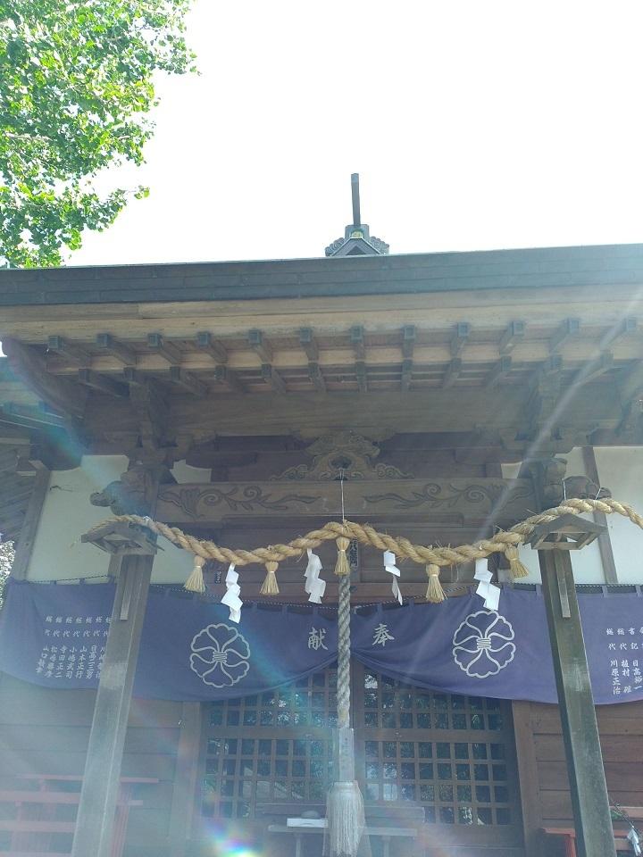 男嶽神社本堂