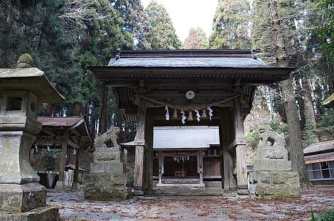 ④2016年2月帰省 籾山神社3