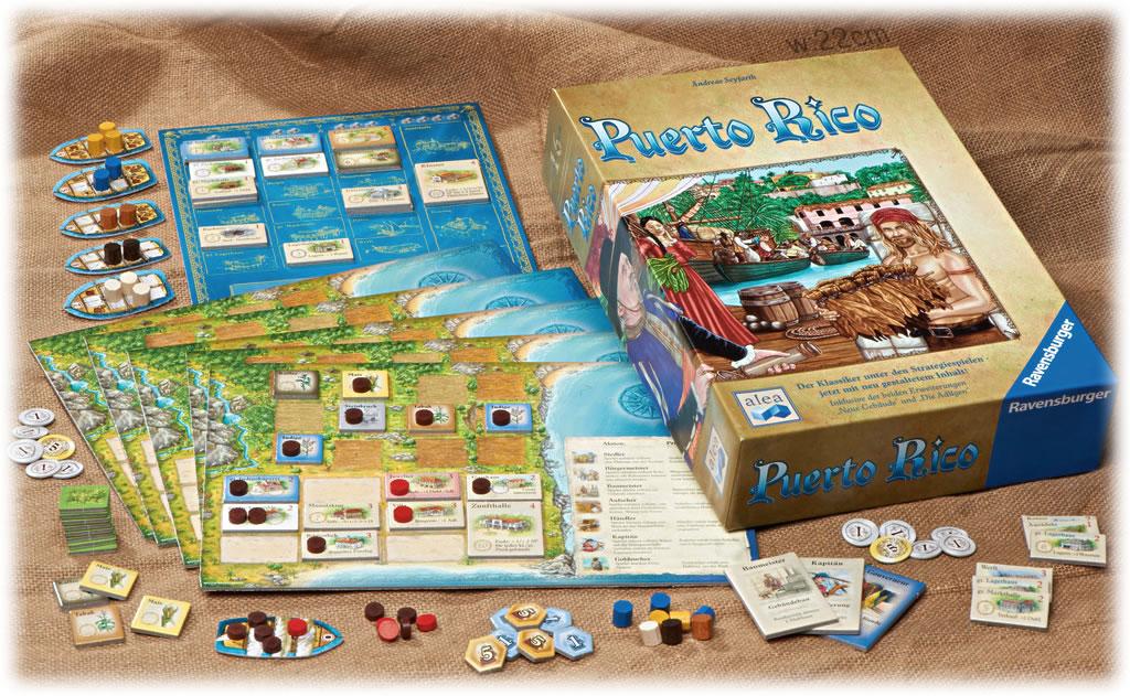 プエルトリコ14:箱と内容物の展開