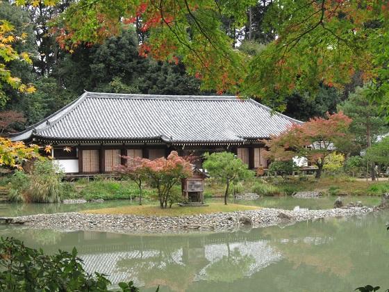 浄瑠璃寺本堂
