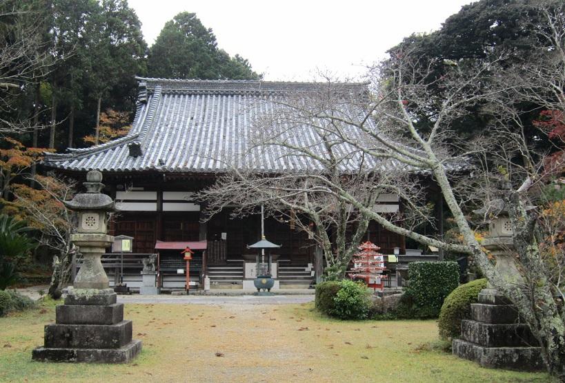 海住山寺 本堂