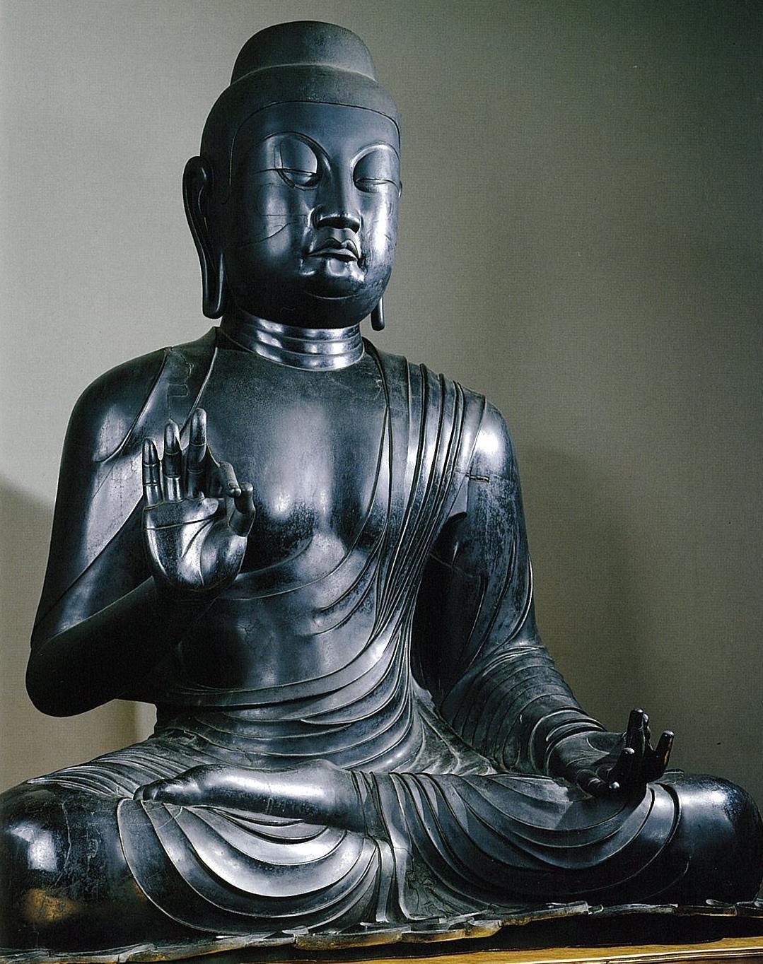 蟹満寺 国宝 釈迦如来坐像