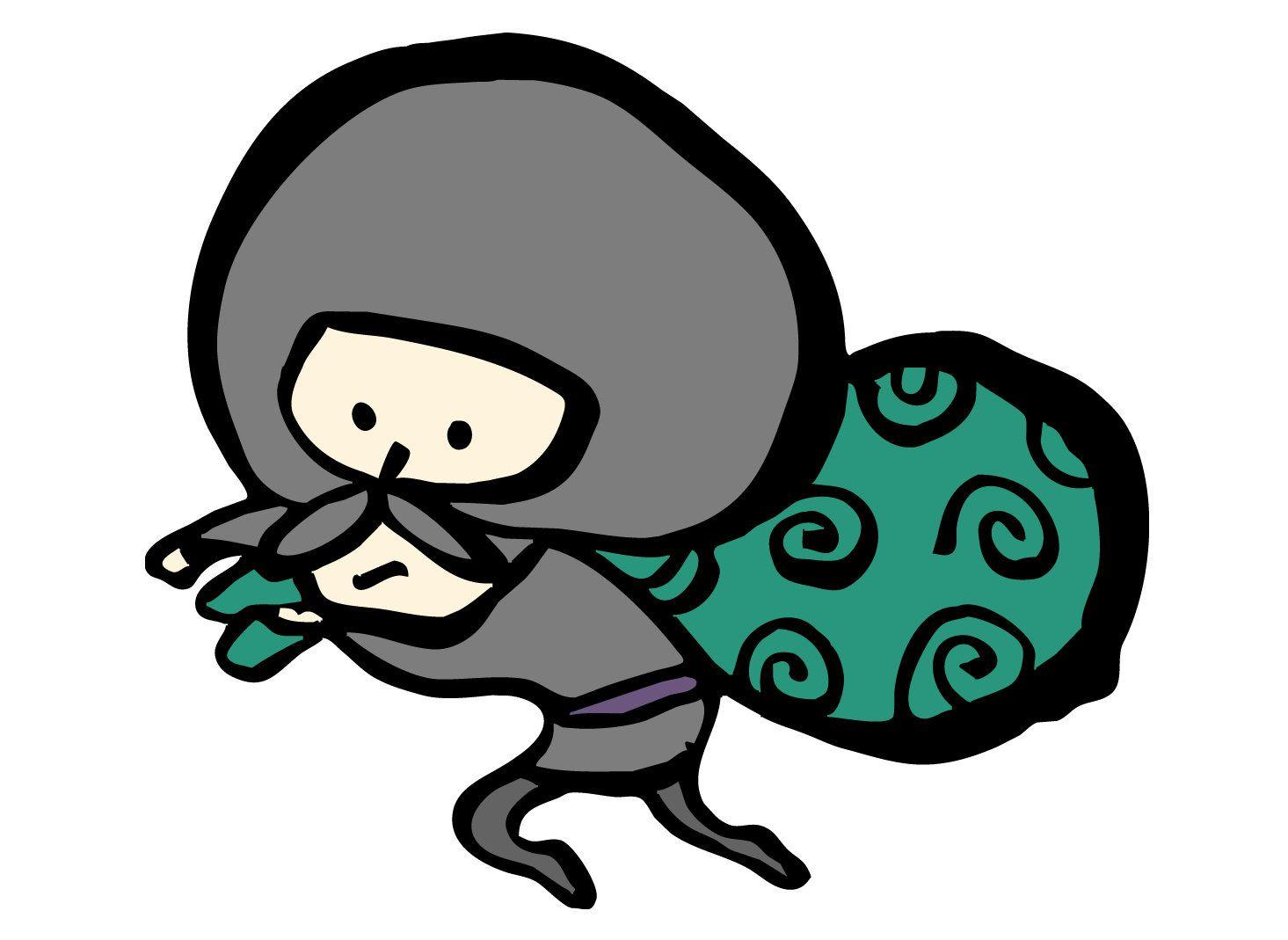 泥棒が盗品を包んで背負っているのは、何故唐草模様の風呂敷?