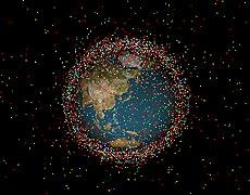 実は、宇宙空間には約4000トンのゴミがある?