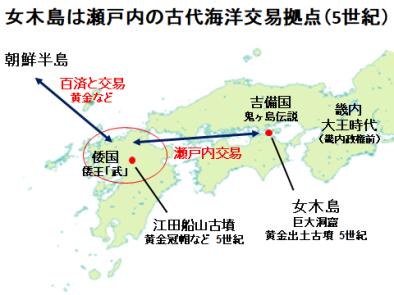 女木島は海洋交易拠点だった