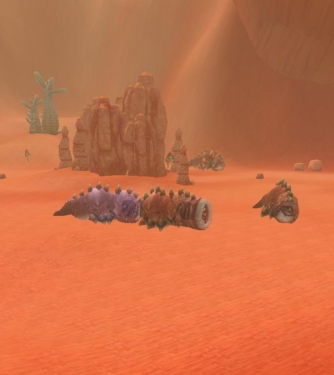 GFブログ(W10)用175A10 GFの風景・赤い尾根 虫の巣窟