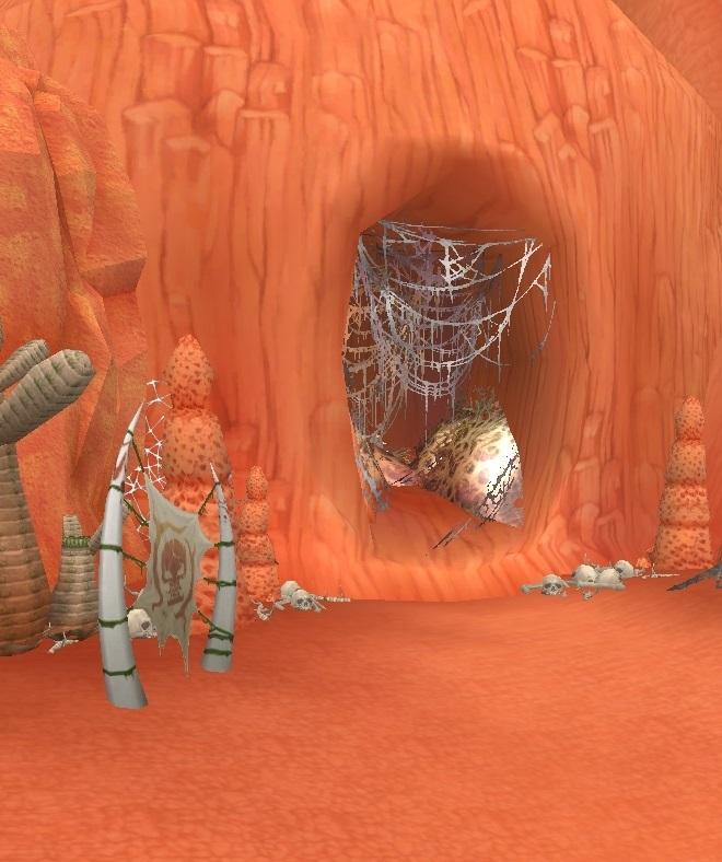GFブログ(W10)用175A11 GFの風景・赤い尾根 虫の巣窟・奥地