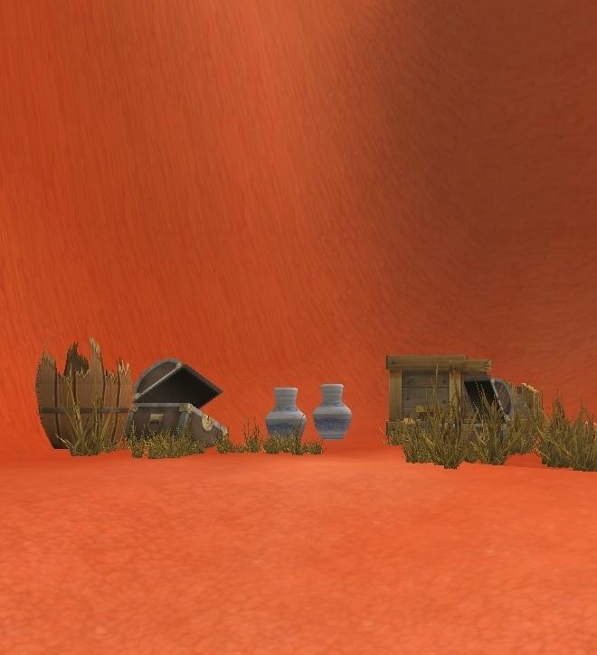GFブログ(W10)用175A19 GFの風景・赤い尾根 暗黒ミグルが湧く場所
